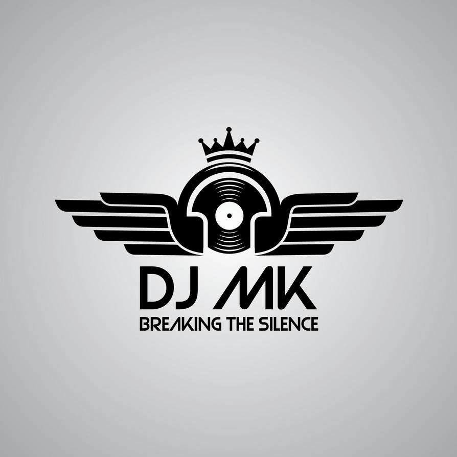 dj mk logo copyright 2011 by djmkca on deviantart rh deviantart com Design Your Own DJ Logos dj logo designing