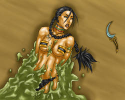 Malaya: Slimed 5 by ThePerilPimp