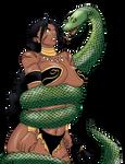 Malaya in Snake Peril by Claret821021
