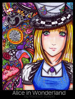 Alice in Wonderland by Maddy25