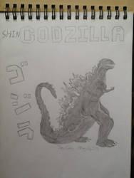 Shin Godzilla by PuttyBaron