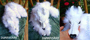 Tundra Wolf Art Doll
