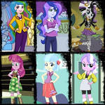 Equestria Girls - The Faculty and Student Body