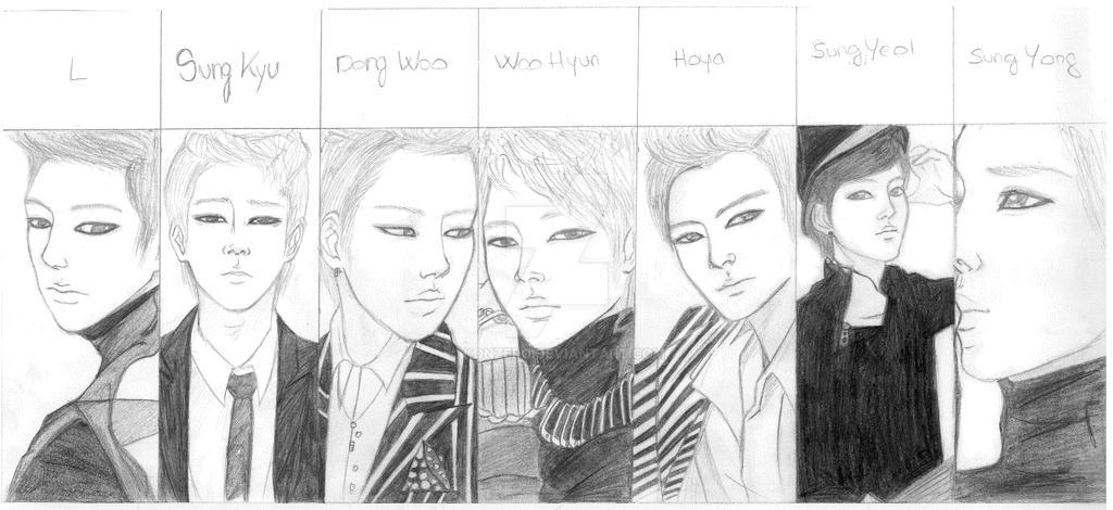 Infinite Kpop By Konzero