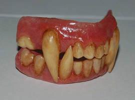Werewolf Teeth by HobbyFX