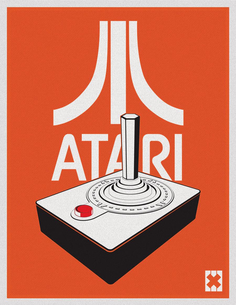 Atari 2600 - Vector Illustration by garethfowler on DeviantArt