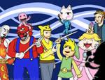 Super PlayStation All-Bros Brawl Royale