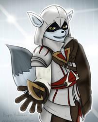 Master Assassin by MoskiDraws