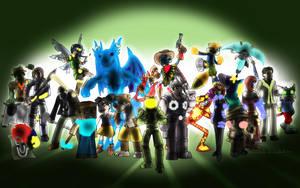 Super Xbox/Microsoft All-Star Brawl Royale by Memoski