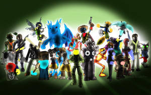 Super Xbox/Microsoft All-Star Brawl Royale by MoskiDraws