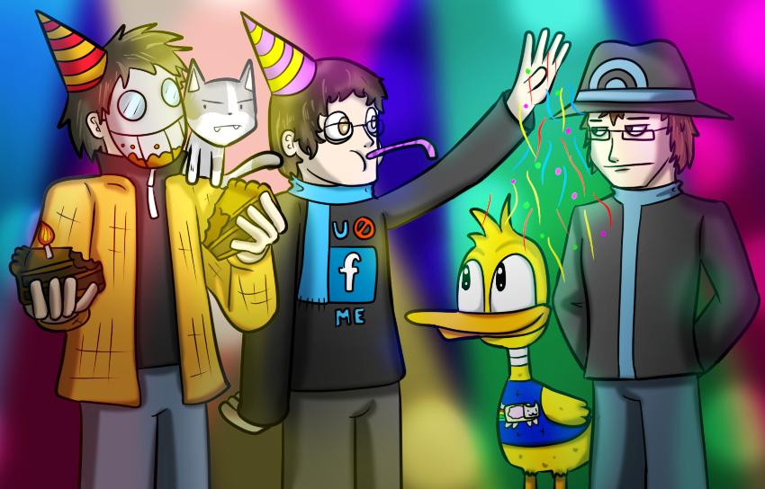 Happy birthday to that guy by Memoski
