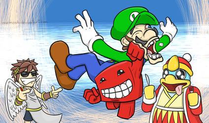 The new Smash brother by MoskiDraws