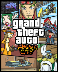 GTA - Haven City by MoskiDraws