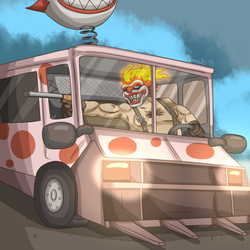 Sweet Ride by MoskiDraws