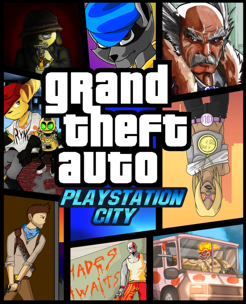 [COLLAB] GTA Playstation City by Memoski