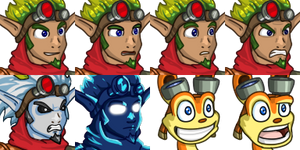 Jak and Daxter Faceset