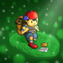 Ness abandoned the cookie by Memoski