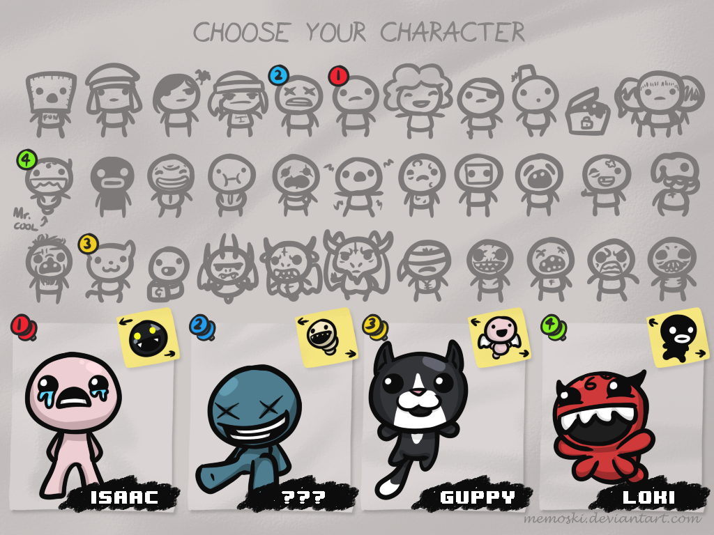 binding of isaac guppy