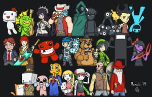 Group of Indie Games by Memoski