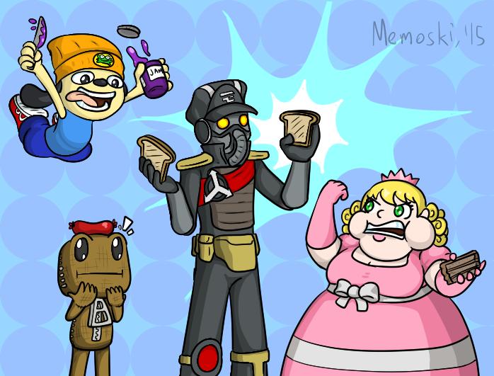 Radec likes toast by Memoski