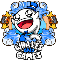 Whales And Games by MoskiDraws