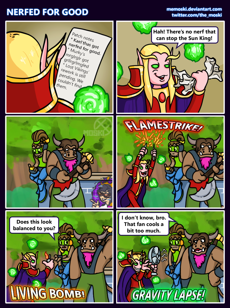 Hots comic - Nerfed for good by Memoski