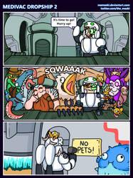 Hots comic - Medivac Dropship 2 by MoskiDraws