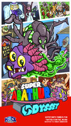 Super Abathur Odyssey by MoskiDraws