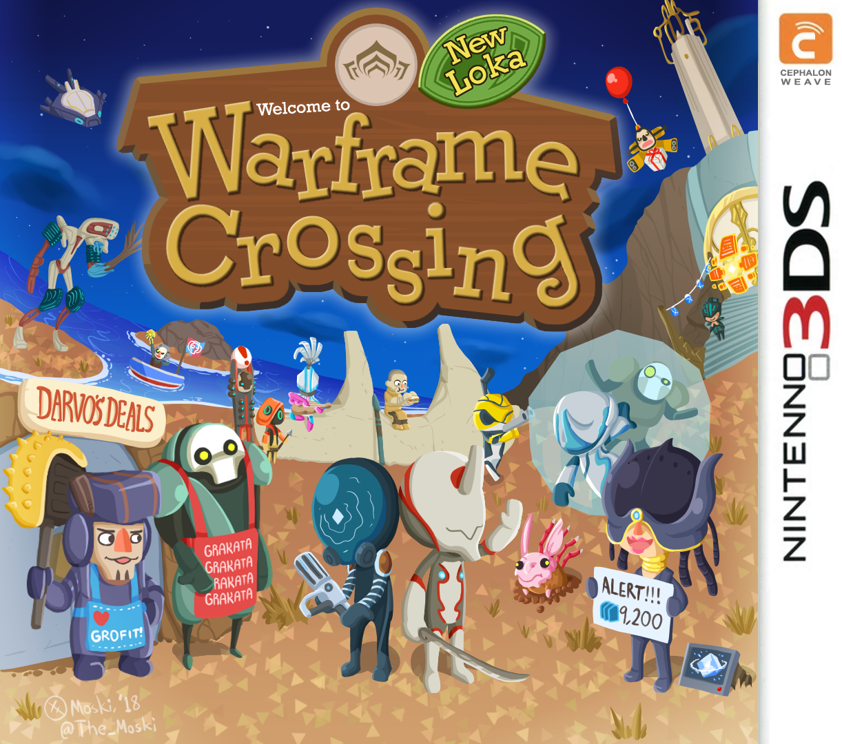 Waframe Crossing: New Loka (Warframe Edition) by Memoski
