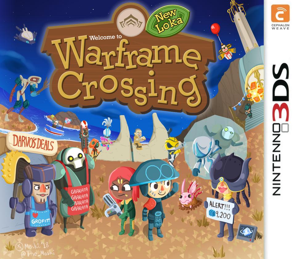 Warframe Crossing: New Loka (Operator Edition) by Memoski