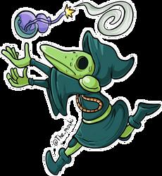 Shovel Knight - Plague Knight by Memoski