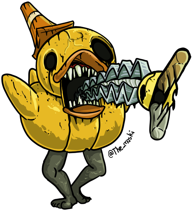 [Dark Deception] Dread Ducky by Memoski