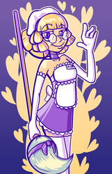Mop Maid by MoskiDraws