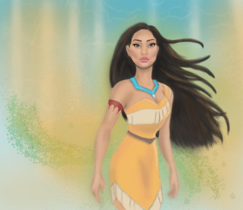 Pocahontas by FenjaVanEm