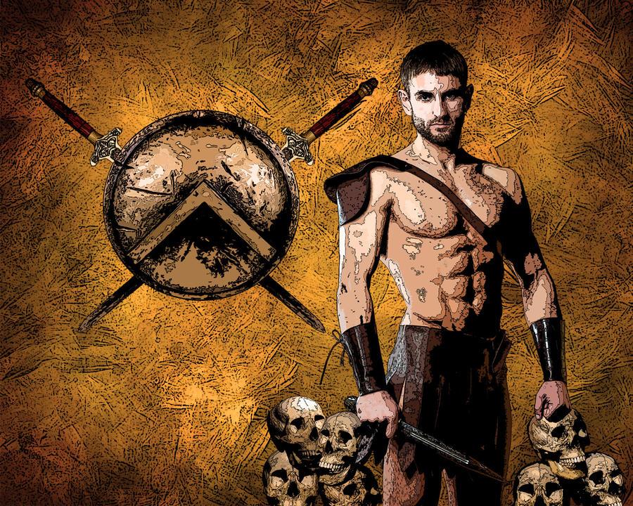 Desktop: Spartacus by pypeworks