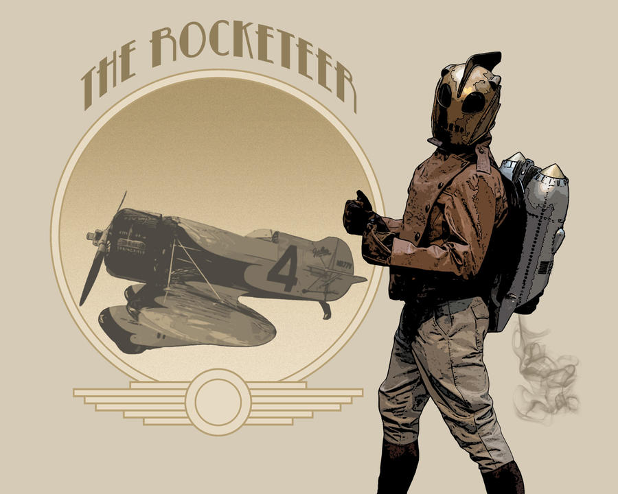 Desktop: The Rocketeer by pypeworks