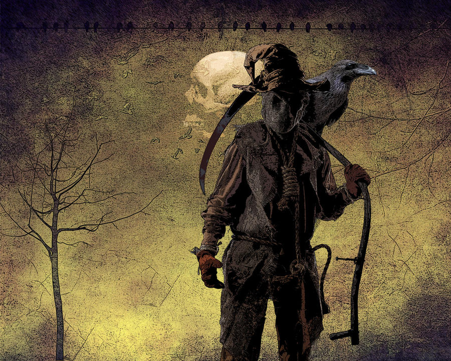 Desktop: Scarecrow by pypeworks on DeviantArt