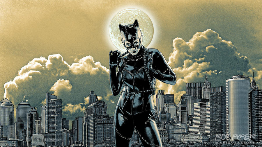 Desktop: Catwoman: Bad Moon Rising by pypeworks