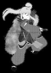 ETL: Daiyoukai InuYasha (KrisCynical Commission) by InuYashaReader