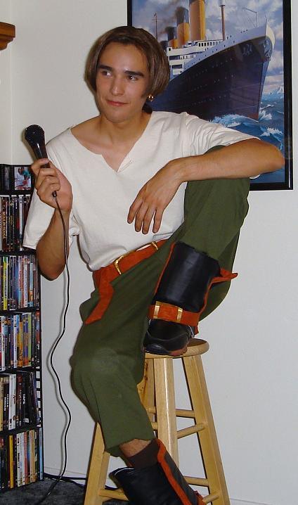 Jim Hawkins Costume No Jacket By Jarod The Stampede On