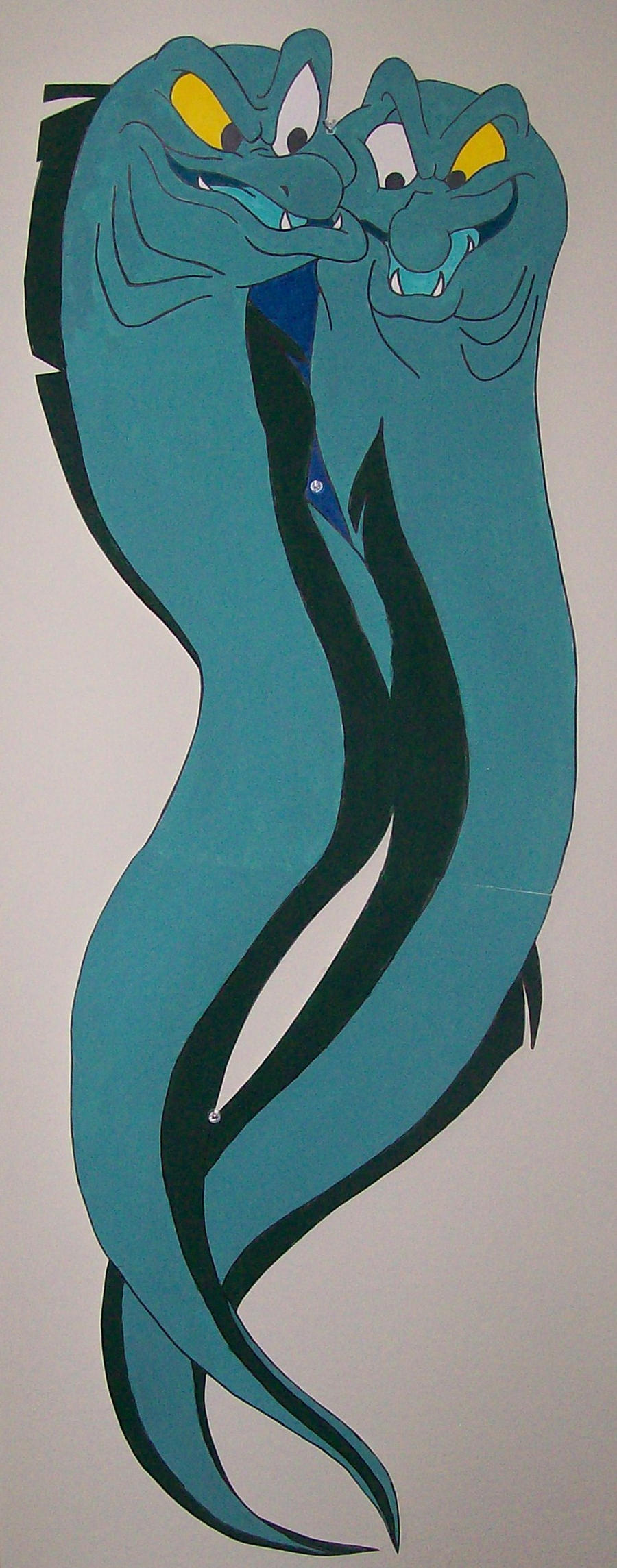 Flotsam and Jetsam Wall Decor by Jarod-the-Stampede