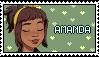 DD Amanda Stamp [ F2U ] by flapjack-stamps