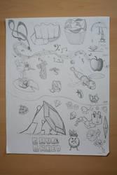 Sketchbook Doodles #2