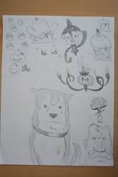 Sketchbook Doodles #4
