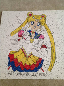 Eternal Sailor Moon ceiling tile for ATI