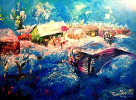 Viljandi in Winter II by Keltu