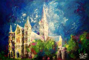 Salisbury Cathedral III by Keltu