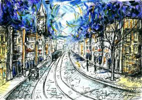 The Haunted City by Keltu