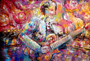 Muse - Matthew Bellamy by Keltu