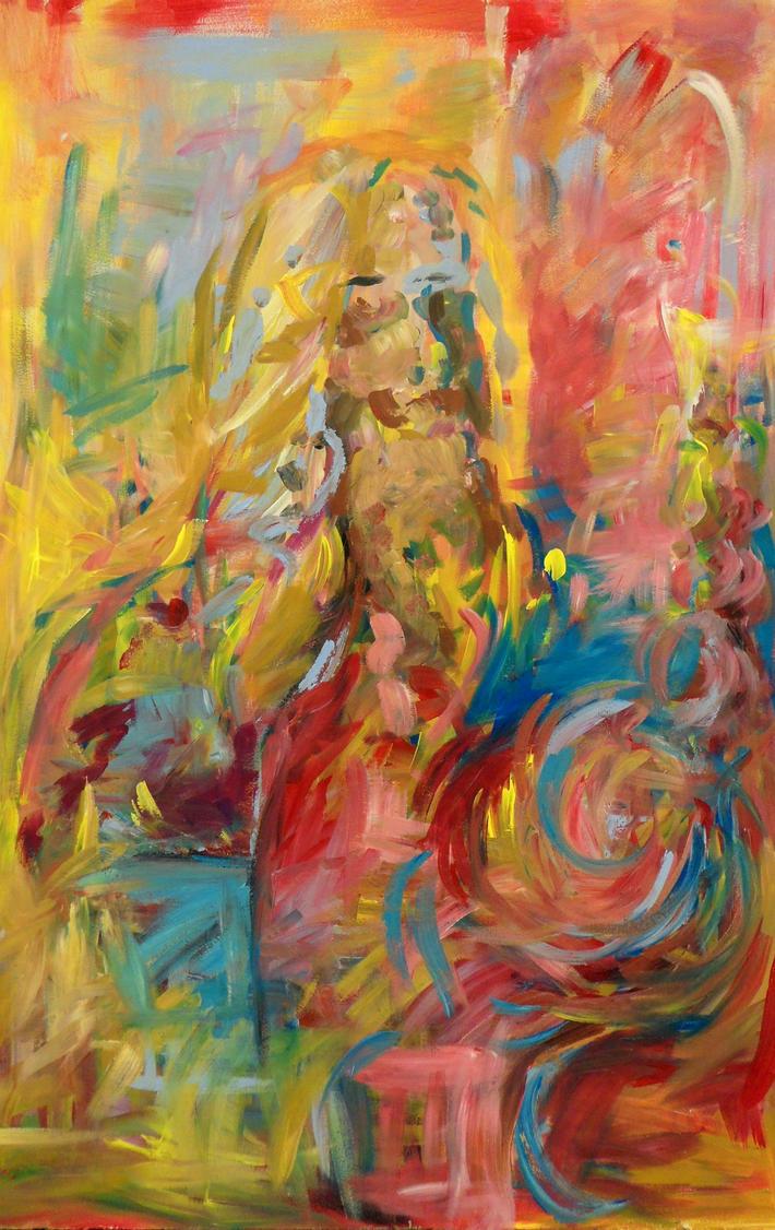 Portrait painting by Keltu